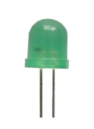 Blink LED 8mm grün selbstblinkend 20-70 mcd 60° (0016)