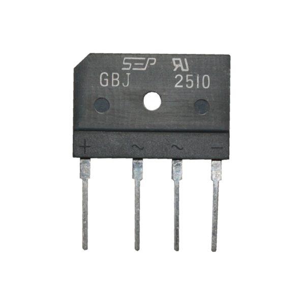Brückengleichrichter Gleichrichter GBJ2510 1000V 25A (0018)