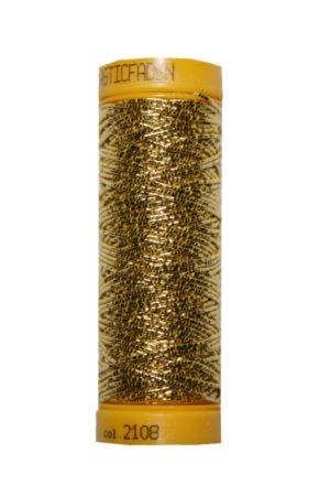 Hutgummi Gummi Nähfaden Elastic 10m gold (2108)