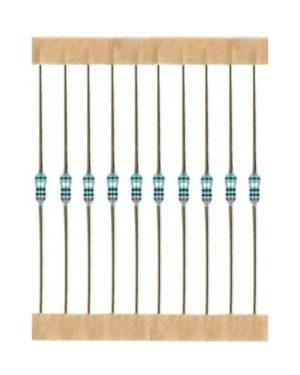 Kohleschicht Widerstand Resistor 820 Ohm 0,25W 5% 10 Stück (3022)