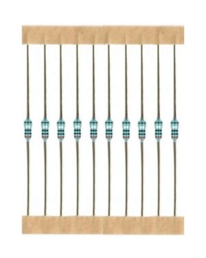 Kohleschicht Widerstand Resistor 910 Ohm 0,25W 5% 10 Stück (3023)