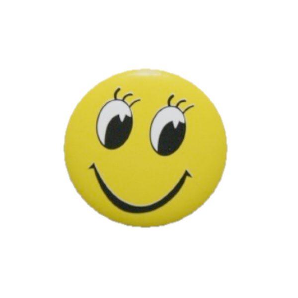 Smiley Button zum Anstecken 30mm 1 Stück (0299)