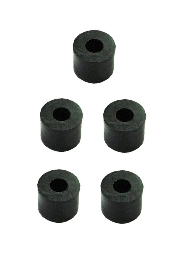 Distanzhülse Abstandshalter Abstandshülse M3x7x5mm schwarz 5 Stück (0219)