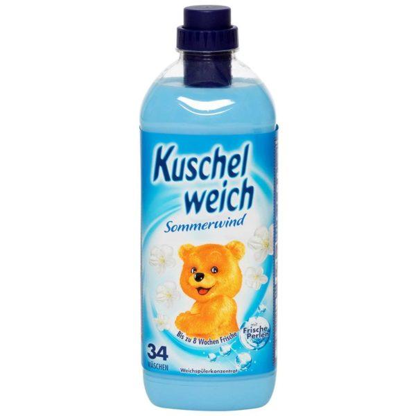 6er Vorteilspack Kuschelweich Weichspüler Sommerwind (0000)