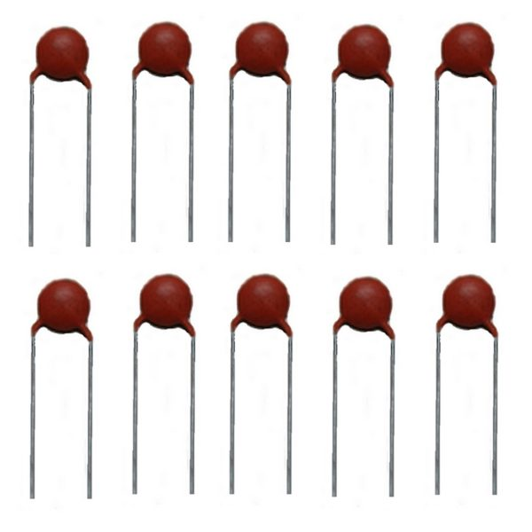 Keramikkondensator Keramik Kondensator 4,7pF 50V 10 Stück (10004)