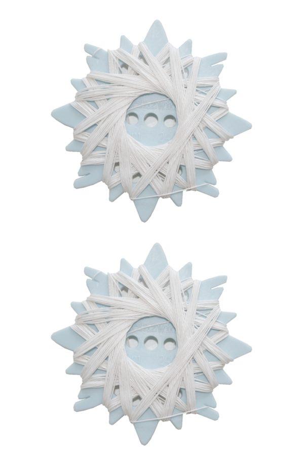 Sternzwirn Ramie 24/3 extra stark 20m weiß 2 Stück (0001)