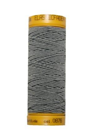 Hutgummi Gummi Nähfaden Elastic 10m grau (0878)