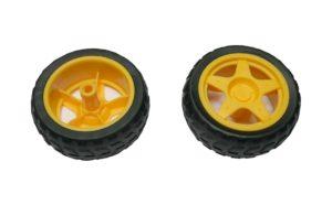 Rad Reifen für Arduino TT Gear Motor 1 Stück (0061)