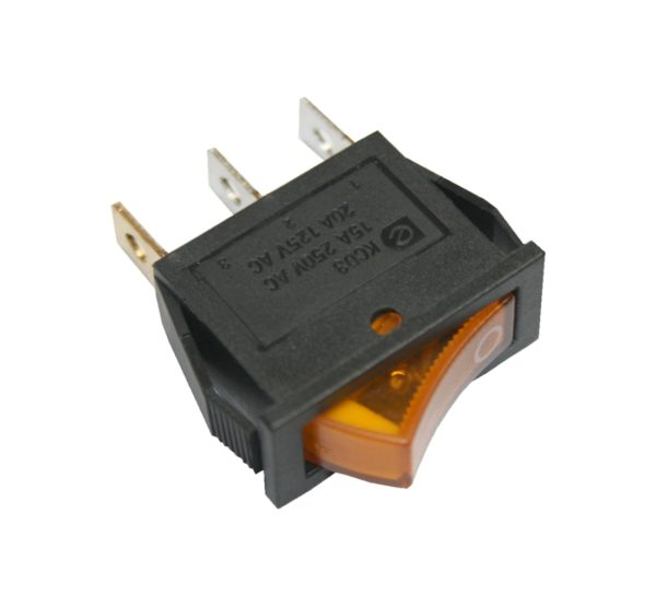 Wippschalter KCD3 Schalter mit Beleuchtung 15A/250V ON-OFF 3PIN (0078)