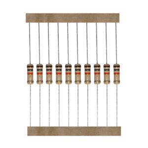 Kohleschicht Widerstand Resistor 3,9 Ohm 1W 5% 10 Stück (0007)