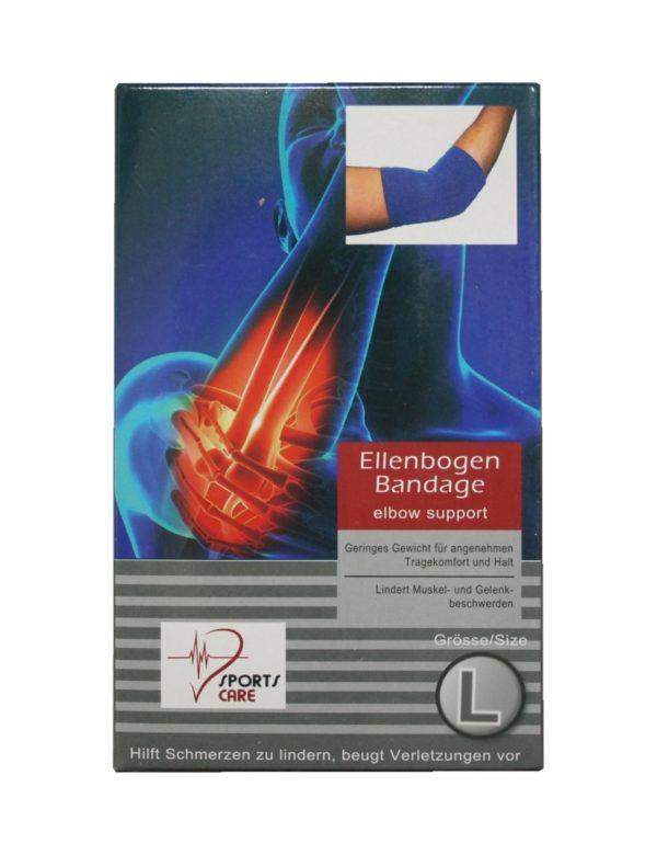 Sportbandage für den Ellenbogen Bandage Größe L (0047)