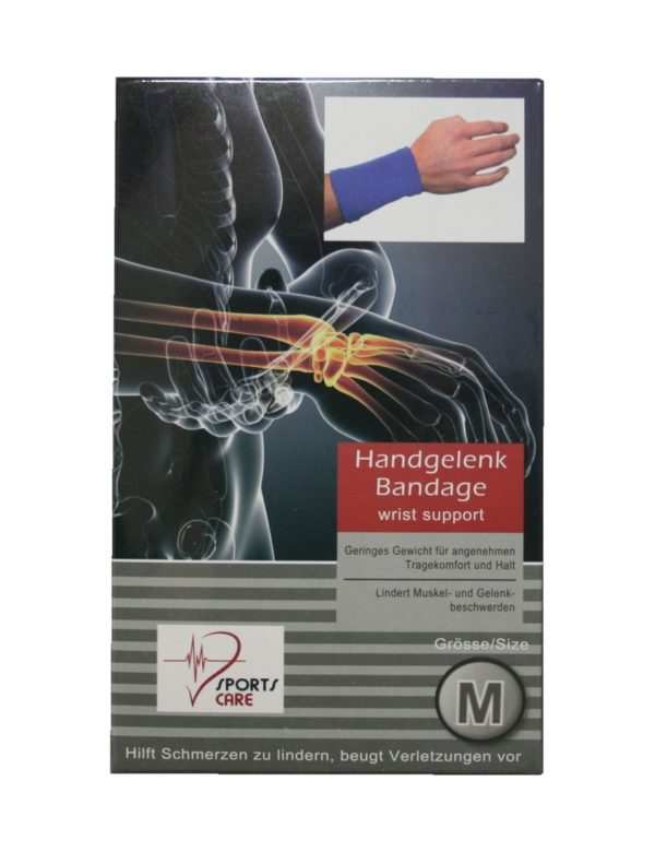 Sportbandage für das Handgelenk Bandage Größe M (0049)