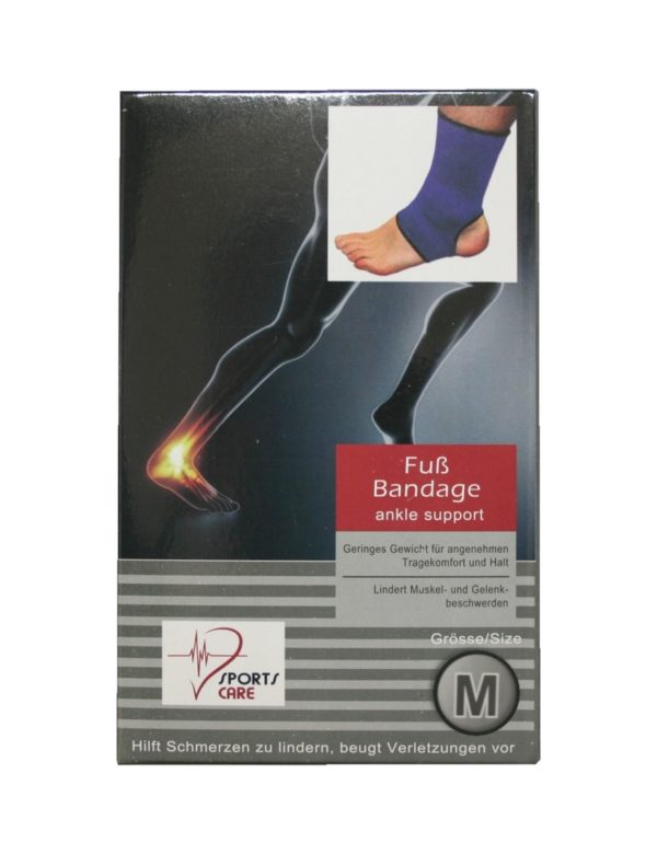 Sportbandage für den Fuß Bandage Größe M (0052)