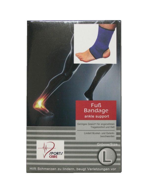 Sportbandage für den Fuß Bandage Größe L (0053)