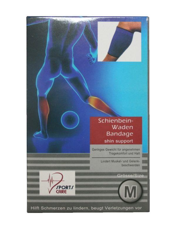 Sportbandage für das Schienbein Wade Bandage Größe M (0058)