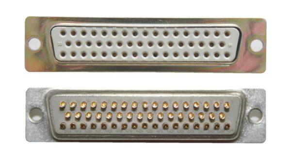 D-Sub Stecker 50 polig weiblich Lötanschluss (0246)