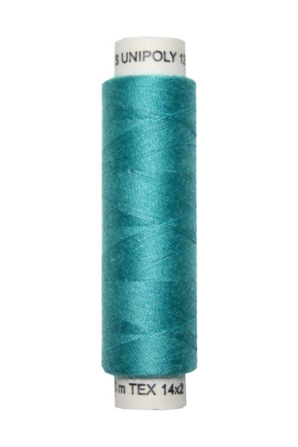 Nähmaschinen Nähgarn 100 m Polyester UNIPOLY 14x2 mint (0656)