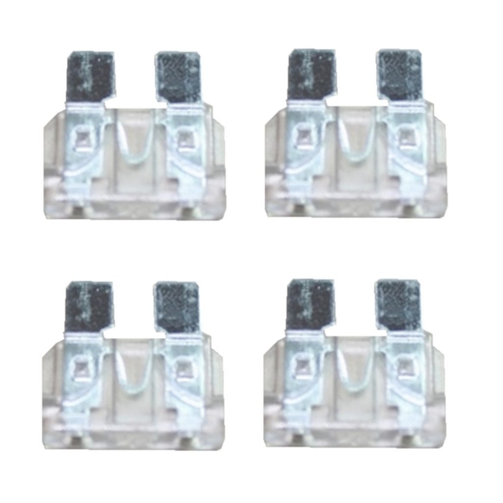 KFZ-Flachsicherung Sicherung 25A weiß 4 Stück (0028)