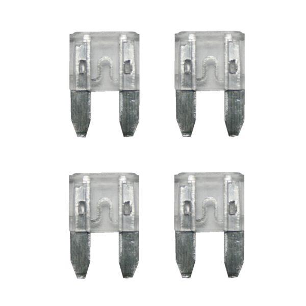 KFZ-Flachsicherung mini Sicherung 25A weiß 4 Stück (0036)