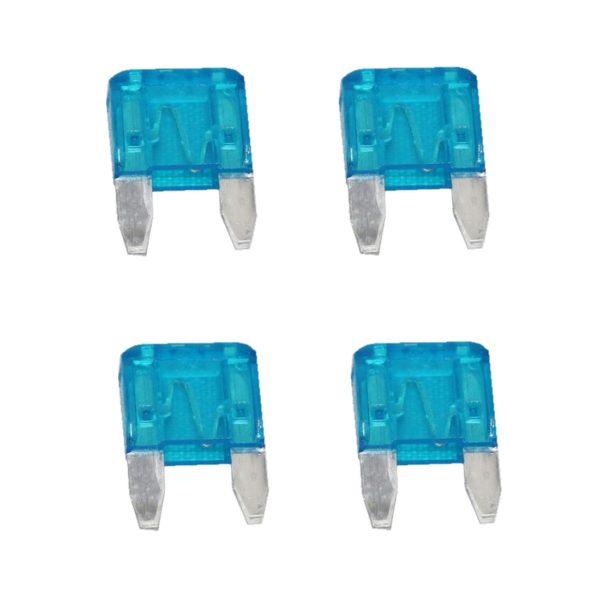 KFZ-Flachsicherung mini Sicherung 15A blau 4 Stück (0038)