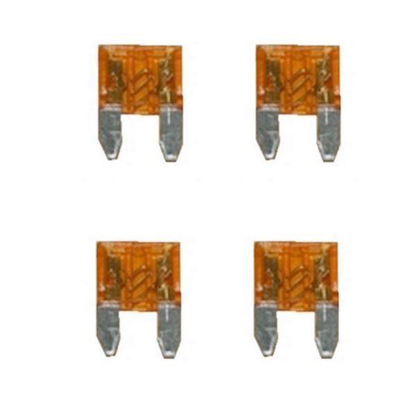 KFZ-Flachsicherung mini Sicherung 5A orange 4 Stück (0041)