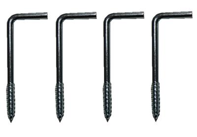 L-Haken Deckenhaken Wandhaken 45 mm 4 Stück (0063)
