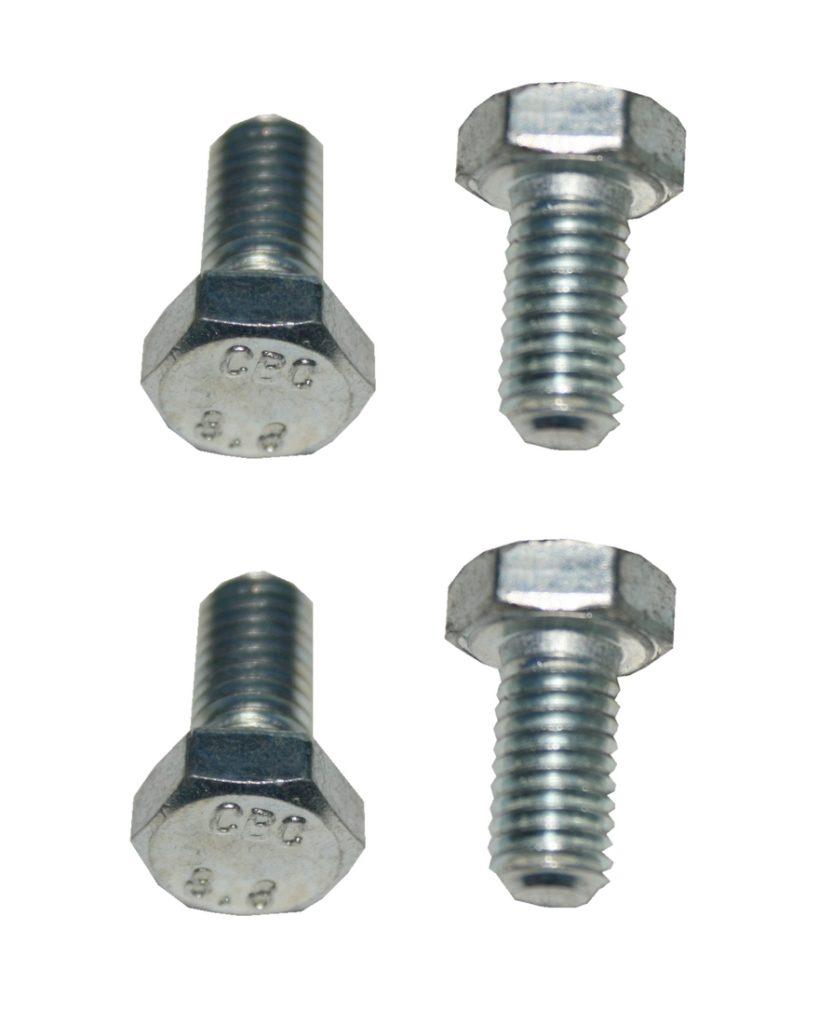 Sechskantschraube M8x16 8.8 verzinkt 4 Stück (0163)