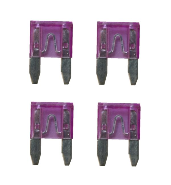 KFZ-Flachsicherung mini Sicherung 35A violett 4 Stück (0232)