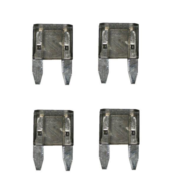 KFZ-Flachsicherung mini Sicherung 2A grau 4 Stück (0233)