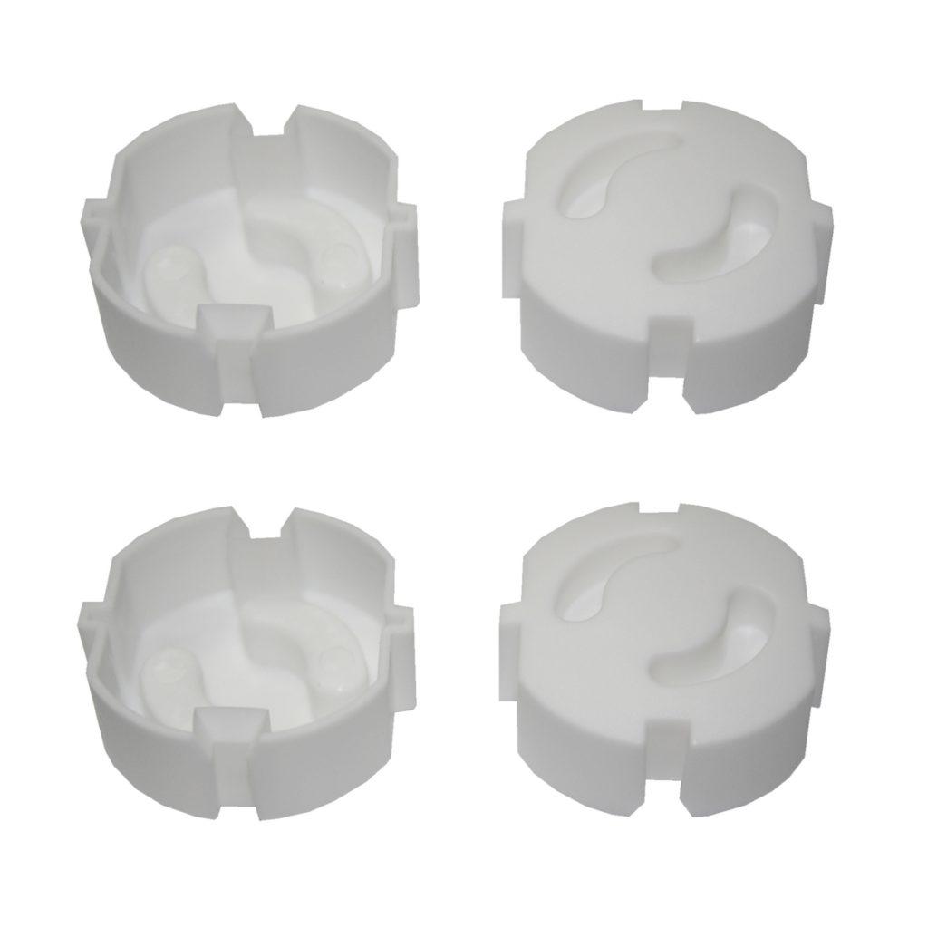 Steckdosensicherung Kinderschutz 4 Stück weiß (0243)