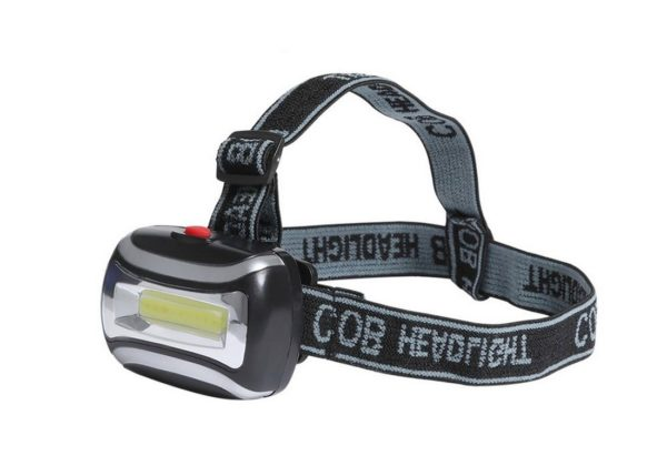 LED Kopflampe Superhell 3W 600 Lumen Stirnbandlampe Kopfbandlampe (0254)