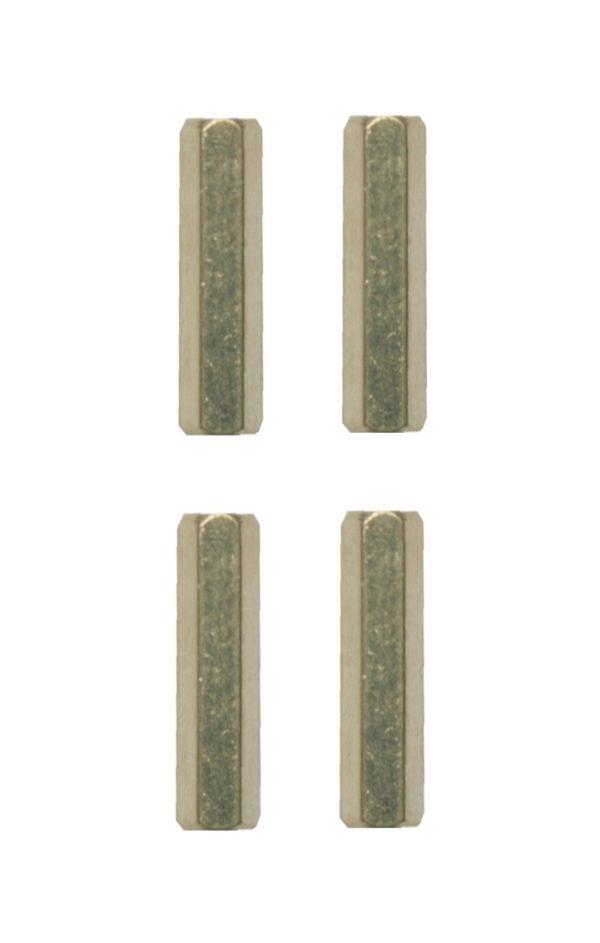 Distanzbolzen Abstandshalter Sechskant M3 20mm 4 Stück (0259)