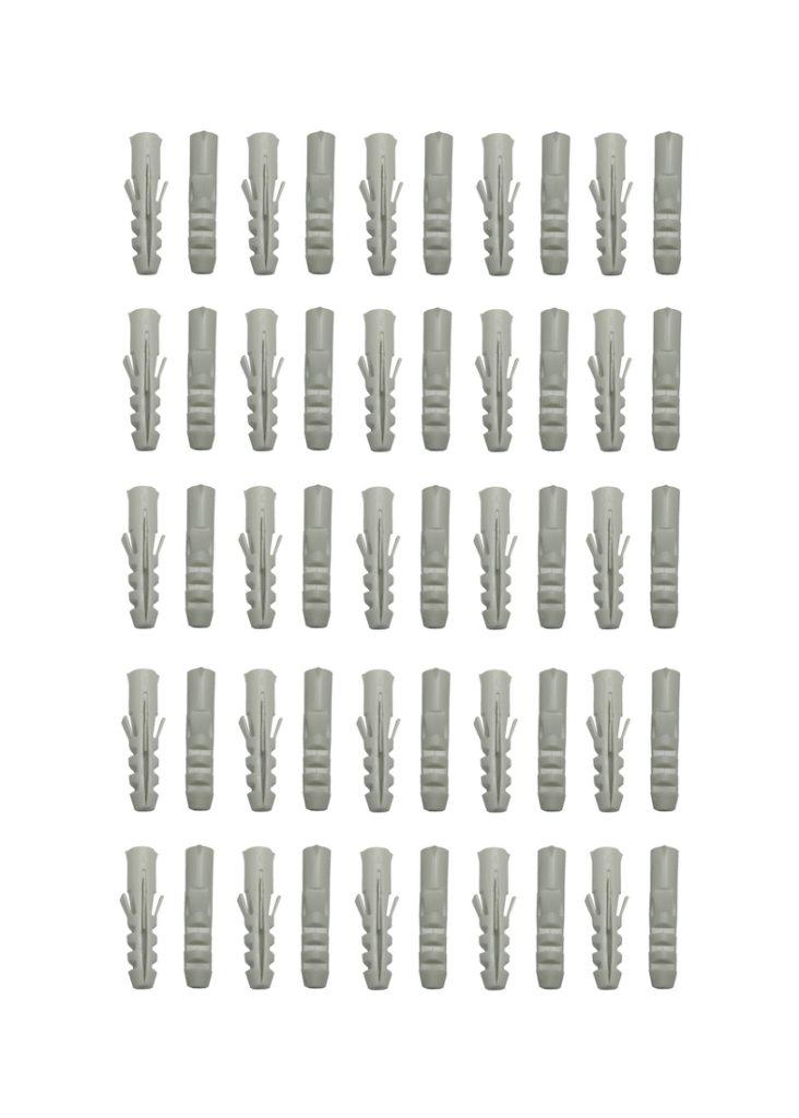 Flossendübel Spreizdübel Dübel 8x40 beige 50 Stück (0261)