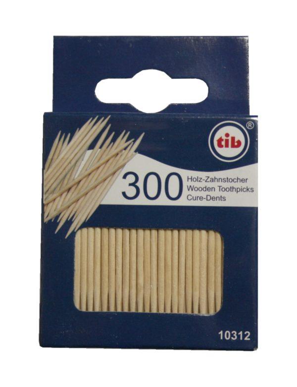 Zahnstocher Zahnhölzer Holz 300 Stück (0267)
