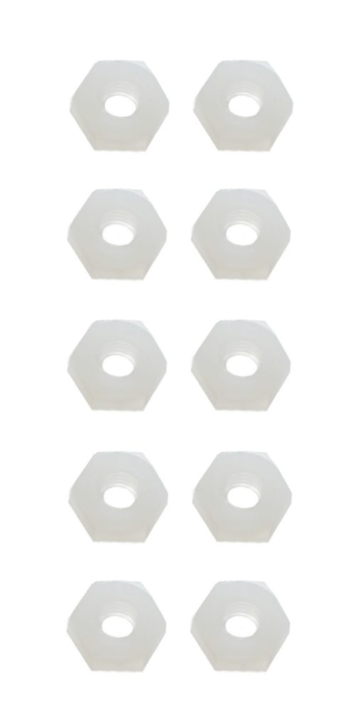 Sechskantmutter Mutter M5 Polyamid Kunststoff 10 Stück (0119)