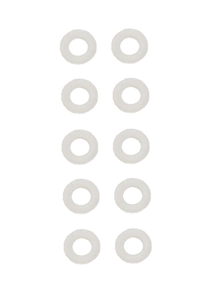 Unterlegscheibe Unterlegscheiben Polyamid 6,4 mm DIN125 10 Stück (0138)