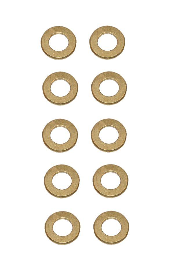 Unterlegscheibe Unterlegscheiben Messing 3,2 mm DIN125 10 Stück (0140)
