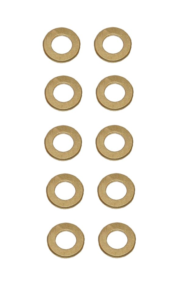 Unterlegscheibe Unterlegscheiben Messing 8,4 mm DIN125 10 Stück (0144)