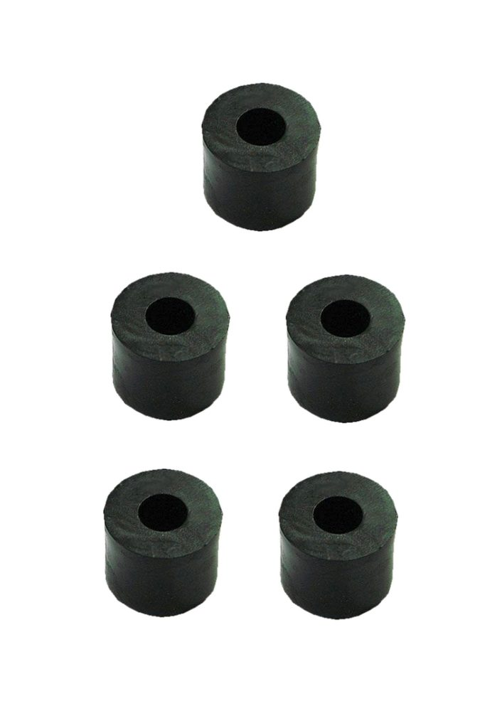 Distanzhülse Abstandshalter Abstandshülse M4x8x5mm schwarz 5 Stück (0150)