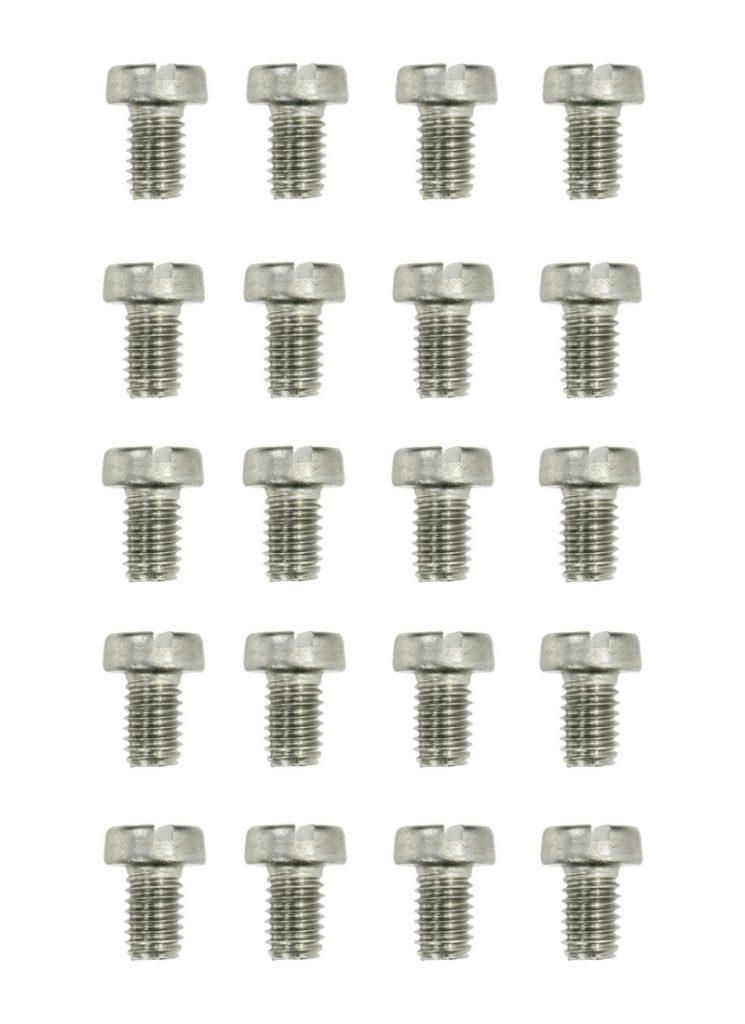 Zylinderschrauben Gewindeschrauben Schraube DIN84 M2,5x16mm 20 Stück (0161)