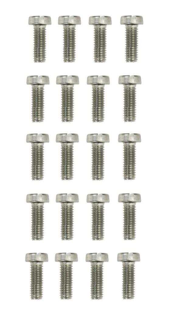 Zylinderschrauben Gewindeschrauben Schraube DIN84 M3x20mm 20 Stück (0166)