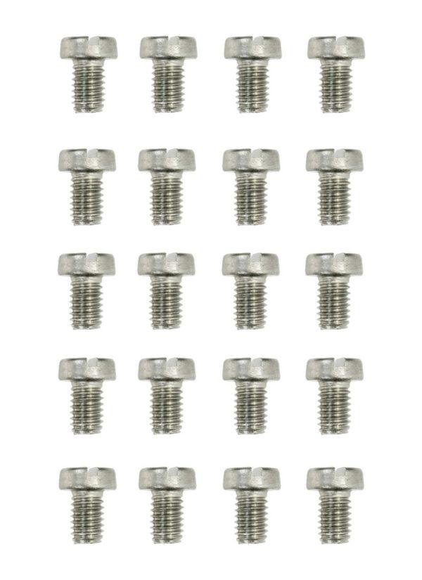 Zylinderschrauben Gewindeschrauben Schraube DIN84 M4x6mm 20 Stück (0171)