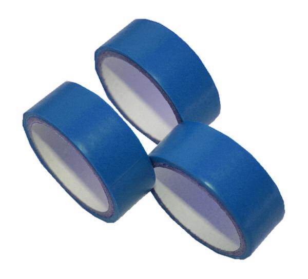 Isolierband Abklebeband PVC-Band 2,5 m 3 Rollen blau (0045)