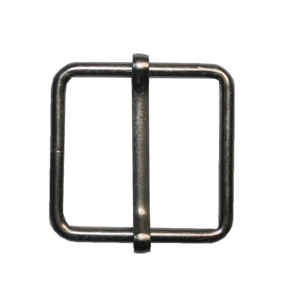 Gurterschieber mit Steg Gurt Verschieber 25x26 mm schwarz (0153)