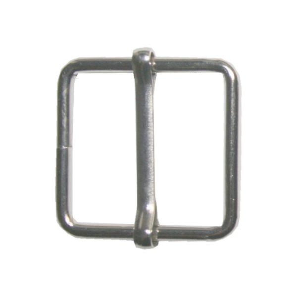 Gurterschieber mit Steg Gurt Verschieber 25x26 mm silberfabend (0154)