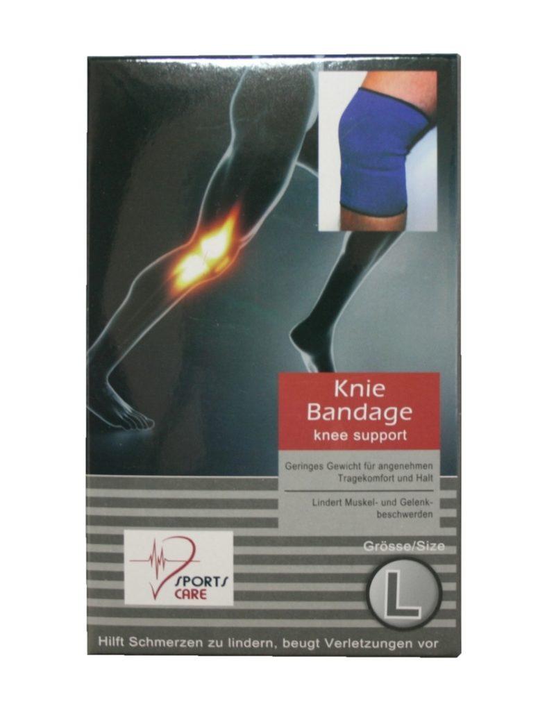 Sportbandage für das Knie Bandage Größe L (0044)