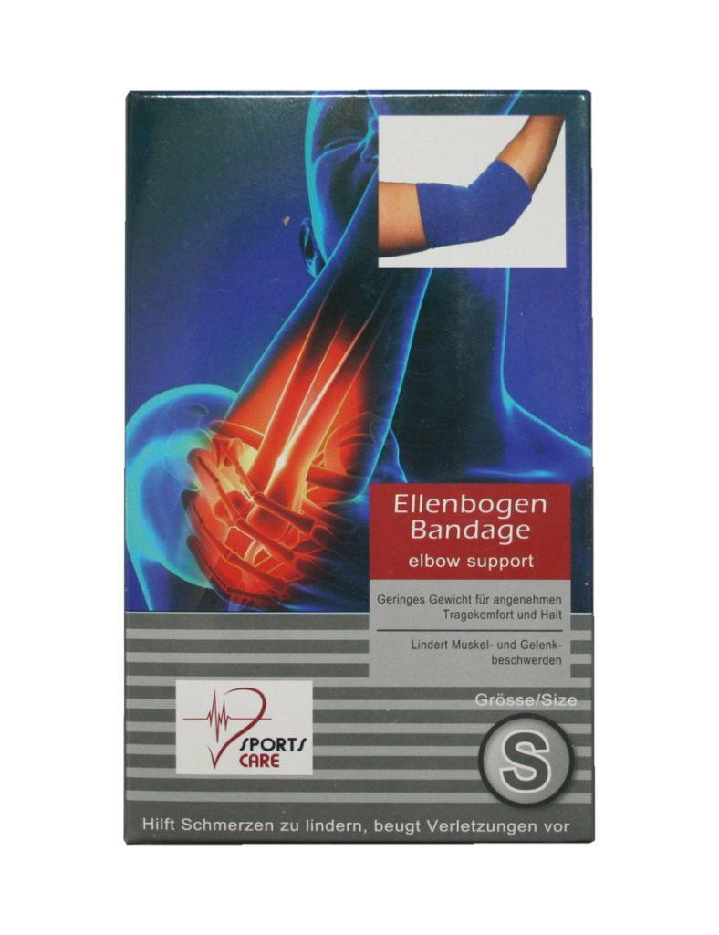 Sportbandage für den Ellenbogen Bandage Größe S (0045)