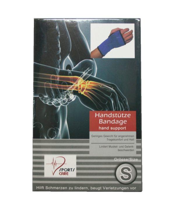 Sportbandage als Handstütze Bandage Größe S (0054)