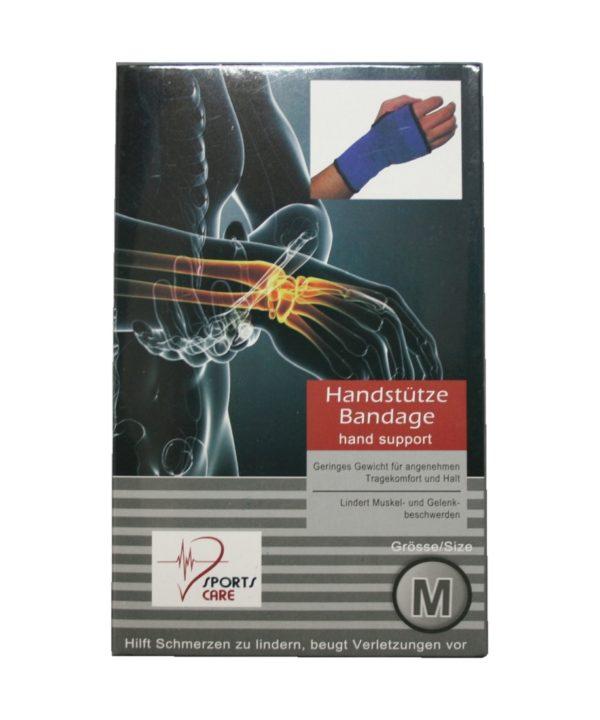 Sportbandage als Handstütze Bandage Größe M (0055)
