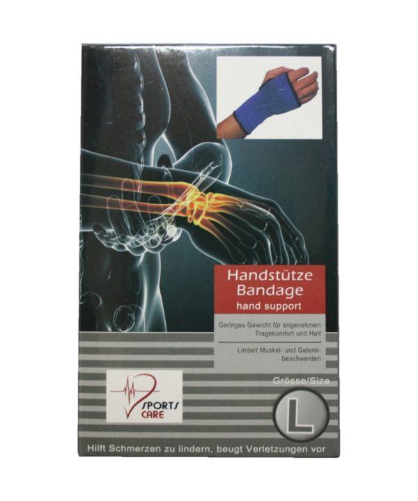 Sportbandage als Handstütze Bandage Größe L (0056)